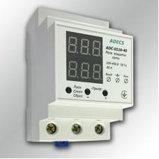 Реле напряжения с ограничителем тока ADECS ADC-0110-40